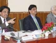 راولپنڈی: ہولی فیملی ہسپتال میں بورڈ آف مینجمنٹ اجلاس سے چیئرمین الائیڈ ..