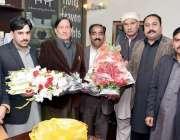 اسلام آباد: سی بی اے کے جنرل سیکرٹری چوہدری محمد یاسین ستارہ مارکیٹ ..