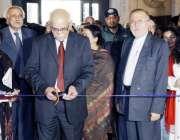 لاہور: بھارتی آرٹسٹ بی این گوسوامی لاہور عجائب گھر میں تصویری نمائش ..
