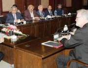لاہور: وزیر اعلیٰ پنجاب محمد شہباز شریف لندن سکول آف اکنامکس کے ڈائریکٹر ..