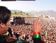 کوٹلی: پاکستان تحریک انصاف کے سربرہ عمران خان کوٹلی میں پی ٹی آئی آزاد ..