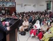 لاہور: صوبائی وزیر تعلیم رانا مشہود احمد خان نظریہ پاکستان ٹرسٹ کے ..