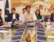 لاہور: ڈی سی او لاہور کیپٹن (ر) محمد عثمان ڈینگی کے حوالے اجلاس کی صدارت ..