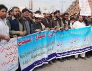 پشاور: کوہستان کے عمائدین مطالبات کے حق میں پریس کلب کے سامنے احتجاجی ..