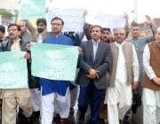 پشاور: خیبر یونین آف جرنلسٹ کے زیر اہتمام کراچی پریس کلب حملے کے خلاف ..
