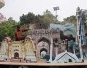 لاہور: جیلانی پارک میں جاری جشن بہاراں فیسٹیول میں پی ایچ اے کا ملازم ..