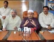 لاہور: آل پاکستان انجمن تاجران کے مرکزی جنرل سیکرٹری نعیم میر دیگر ..