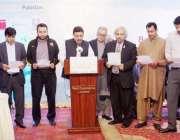 لاہور: وزیر محنت راجہ اشفاق سرور بلوچستان کے وزیر پلاننگ اینڈ ڈویلپمنٹ ..