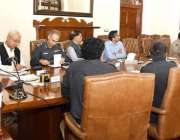 لاہور: آئی جی پنجاب مشتاق سکھیرا سینٹرل پولیس آفس میں آر پی او کانفرنس ..