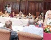 لاہور: صوبائی وزیر قانون رانا ثناء اللہ وائلنس بل پر عملدرآمد /وضاحت ..
