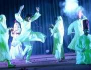 لاہور: گورنمنٹ کالج یونیورسٹی لاہور میں منعقدہ پرفارمنگ آرٹس فیسٹیول ..