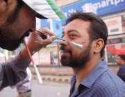"""لاہور: یوم پاکستان کے موقع پر """"عزم پاکستان پریڈ"""" شرکت کے لیے آنیوالا .."""