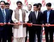 لاہور: صوبائی وزیر معدنیات و کان کنی چوہدری شیر علی خان سولر پاکستان ..