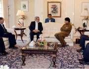 اسلام آباد: وزیر داخلی چوہدری نثار علی خان سے انکے ایرانی ہم منصب عبدالرضا ..