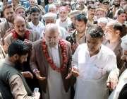 ایبٹ آباد: صوبائی وزیر خوراک قلندر لودھی ویلج کونسل بانڈہ پیر خان ون ..