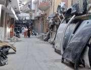 راولپنڈی: پنجاب پولیس کی نا اہلی ، چاہ سلطان میں غیر قانونی گاڑیوں کا ..