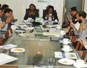 قصور: ڈی سی سلمان غنی ڈی پی او سید علی ناصر رضوی کی زیر صدارت اجلاس میں ..