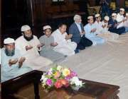 لاہور: گونر پنجاب ملک محمد رفیق رجوانہ سانحہ گلشن اقبال پارک میں جاں ..