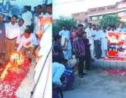 سرگودھا: سانحہ گلشن اقبال پارک کے شہداء کی یاد میں پاکستان مینارٹیز ..