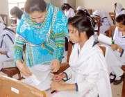 حیدر آباد: ثانوی و اعلیٰ ثانوی بورڈ کے تحت منعقدہ دسویں جماعت کے امتحانات ..
