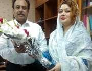 اسلام آباد: پاکستان مسلم لیگ (ن) کے رہنما سیما چوہدری نئے منتخب ہونیواہے ..