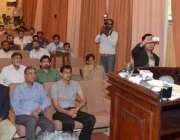 لاہور: وائس چانسلر پنجاب یونیورسٹی پروفیسر ڈاکٹر مجاہد کامران عالمی ..