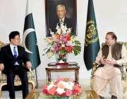اسلام آباد: وزیر اعظم محمد نواز شریف سے چین کی کیمونسٹ پارٹی کے پولیٹیکل ..