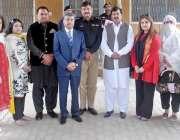 راولپنڈی: پنجاب کانسٹیبلری روات میں زیر تربیت اہلکاروں کو لیکچر کے ..