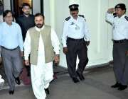 لاہور: ڈپٹی اسپیکر پنجاب اسمبلی سردار شیر علی گورچانی اجلاس میں شرکت ..