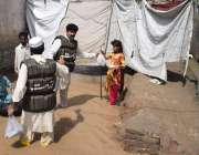 الخدمت فاؤنڈیشن کے رضا کار شدید بارشوں اور لینڈ سلائیڈنگ سے متاثرہ ..
