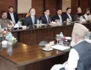 لاہور: وزیر اعلیٰ پنجاب محمد شہباز شریف سے تمام مکاتب فکر کے جید علمائے ..
