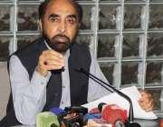 لاہور: چیئرمین متروکہ وقف املاک بورڈ محمد صدید الفاروق پریس کانفرنس ..