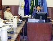 لاہور: کمشنر لاہور ڈویژن عبداللہ خان سبنل خطرناک عمارتوں کے حوالے سے ..