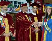 پشاور: گونر خیبر پختونخوا اقبال ظفر جھگڑا خیبر گرلز میڈیکل کالج کے ..