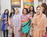 راولپنڈی: سینیٹر نجمہ حمید، ممبر قومی اسمبلی طاہرہ اورنگزیب راولپنڈی ..