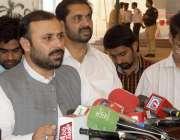 لاہور: ڈپٹی اسپیکر پنجاب اسمبلی سردار شیر علی خان گورچانی اسمبلی کے ..