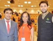 نیویارک: کشمیری یوتھ ایکٹویسٹ ذیشان حیدر کا اتھوپیا کی مندب بٹی فیکاڈی ..