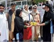 پشاور: ڈئریکٹر جنرل سپورٹس رشیدہ غزنوی خیبر پختونخوا گیمز سوات ریجن ..