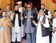 مظفر آباد: آزاد کشمیر کے وزیر جنگلات ایم ایل اے حلقہ دو کوٹلہ سردار ..