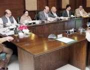 لاہور: وزیر اعلیٰ پنجاب محمد شہباز شریف صوبے میں فلاح عامہ کے منصوبوں ..