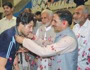 پشاور: ڈائریکٹر سپورٹس طارق محمود خیبر پختونخوا گیمز پشاور ریجن میں ..