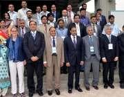 لاہور: وزیر مملکت برائے پانی و بجلی چوہدری عابد شیر علی کا نونیسکو کے ..