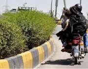 راولپنڈی: موٹر سائیکل سوار بچی کو خطر ناک انداز سے اٹھائے سفر کر رہے ..