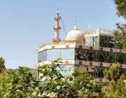 راولپنڈی: مری کے راستے میں کمپنی باغ میں تعمیر شدہ مسجد صراط الجنتہ ..