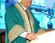 کراچی: چیئرمین سینٹ میاں رضا ربانی ضیاء الدین یونیورسٹی کراچی کے 13ویں ..