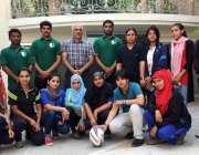 لاہور: پاکستان رگبی یونین کے زیر اہتمام لیول ون کوچنگ کورس میں شریک ..