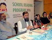 بہاورلپور: وزیر مملکت انجینئر بلیغ الرحمن بچوں کے ادبی فیسٹیول اور ..