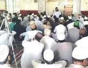 لاہور: پاکستان علماء کونسل کے مرکزی چیئرمین حافظ طاہر محمود اشرفی جمعہ ..