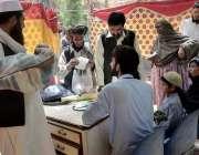 کوئٹہ: ینگ ڈاکٹرز ایسوسی ایشن بلوچستان کی جانب سے ہڑتال کے دوران ہسپتال ..