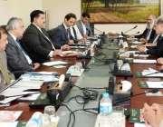 اسلام آباد: وفاقی وزیر تجارت انجینئر خرم دستگیر خان پاکستان بھارت بزنس ..